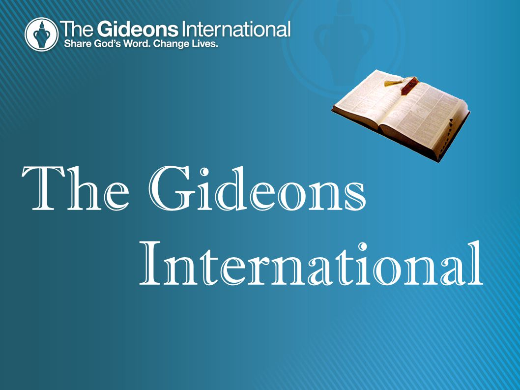 International The Gideons