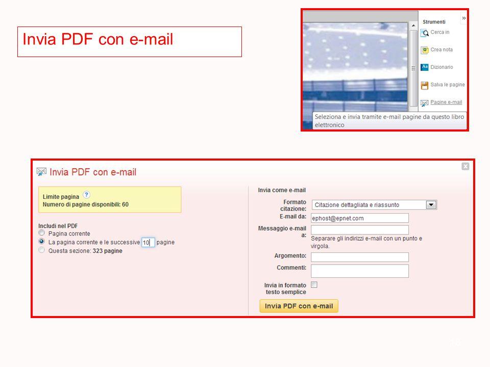 18 Invia PDF con e-mail