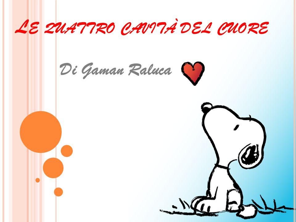L E QUATTRO CAVITÀ DEL CUORE Di Gaman Raluca