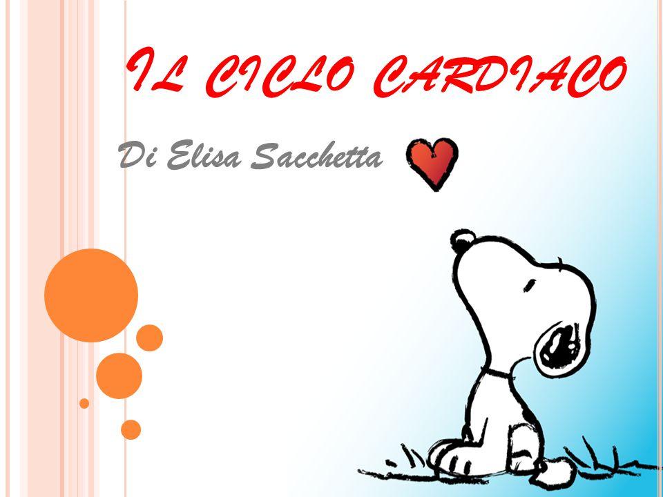 I L CICLO CARDIACO È l'insieme delle contrazioni e delle dilatazioni delle cavità cardiache, che in pratica sono due in quanto la sistole degli atri è contemporanea alla diastole dei ventricoli e la sistole dei ventricoli è contemporanea alla diastole degli atri.