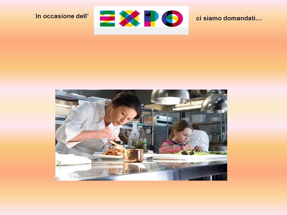 Per contattare eventuali fornitori … Siamo stati alla fiera dell'artigianato di Rho, settore della ristorazione … Inizia il nostro viaggio verso l'Expo.