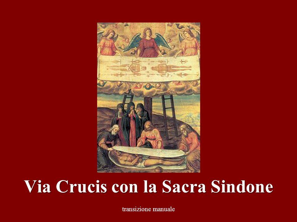 transizione manuale Via Crucis con la Sacra Sindone