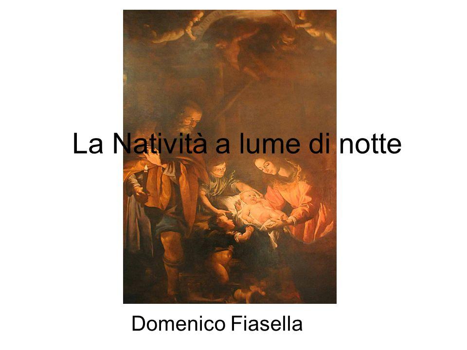 Domenico Fiasella La Natività a lume di notte