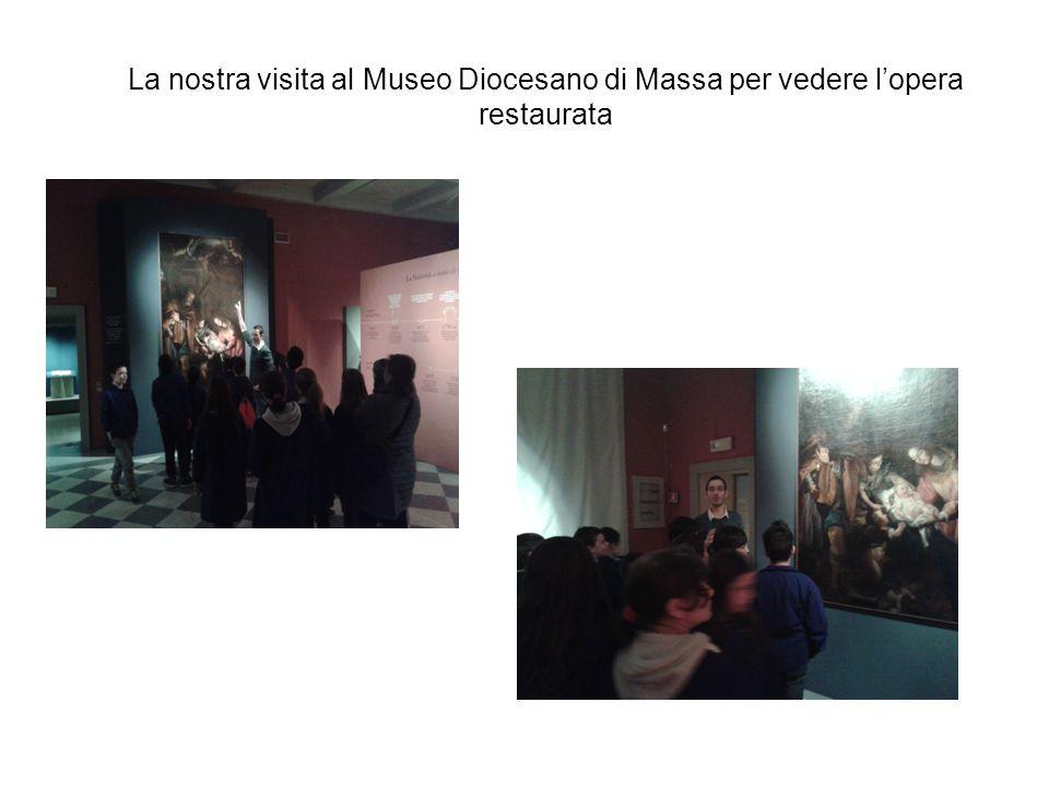 La nostra visita al Museo Diocesano di Massa per vedere l'opera restaurata