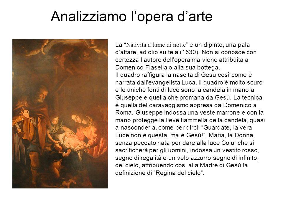 """La """"Natività a lume di notte"""" è un dipinto, una pala d'altare, ad olio su tela (1630). Non si conosce con certezza l'autore dell'opera ma viene attrib"""