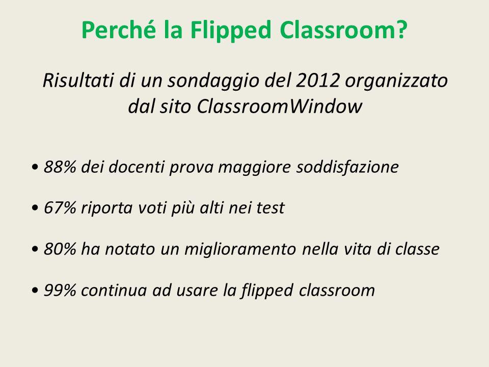 Perché la Flipped Classroom.