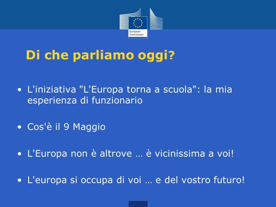 L'Europa torna a scuola! Angelo Marino incontra gli alunni di Tufara e Gambatesa 9 Maggio 2015