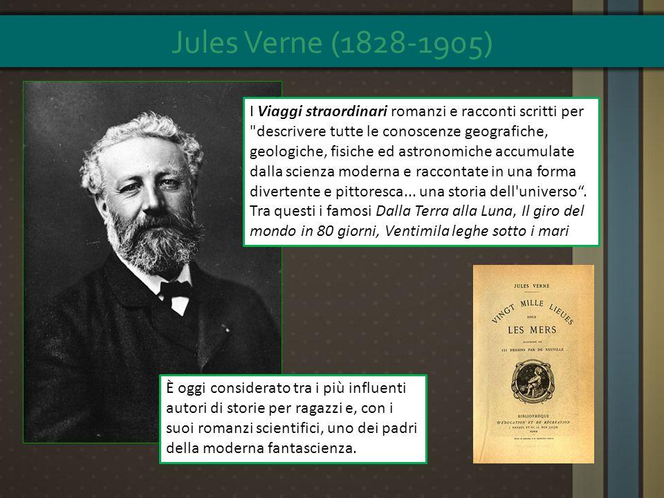 È oggi considerato tra i più influenti autori di storie per ragazzi e, con i suoi romanzi scientifici, uno dei padri della moderna fantascienza. I Via