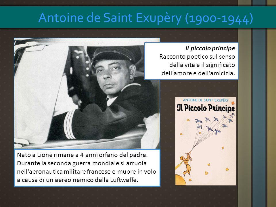 Nato a Lione rimane a 4 anni orfano del padre. Durante la seconda guerra mondiale si arruola nell'aeronautica militare francese e muore in volo a caus