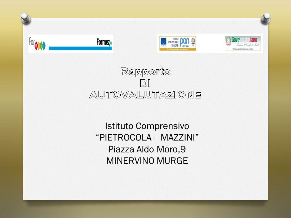 """Istituto Comprensivo """"PIETROCOLA - MAZZINI"""" Piazza Aldo Moro,9 MINERVINO MURGE"""