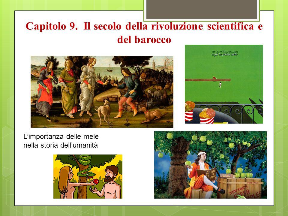 Capitolo 9. Il secolo della rivoluzione scientifica e del barocco L'importanza delle mele nella storia dell'umanità