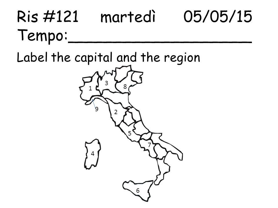 Ris #122mercoledì06/05/15 Tempo:___________________ Name the roman monument 1. 2.3. 4.5.