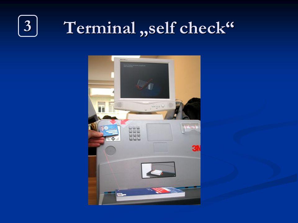 "Terminal ""self check"" 3"