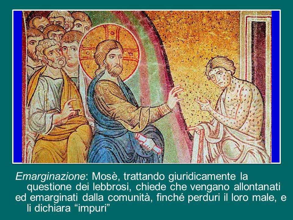 E questi sono i tre concetti-chiave che la Chiesa ci propone oggi nella liturgia della Parola: la compassione di Gesù di fronte all'emarginazione e la sua volontà di integrazione.
