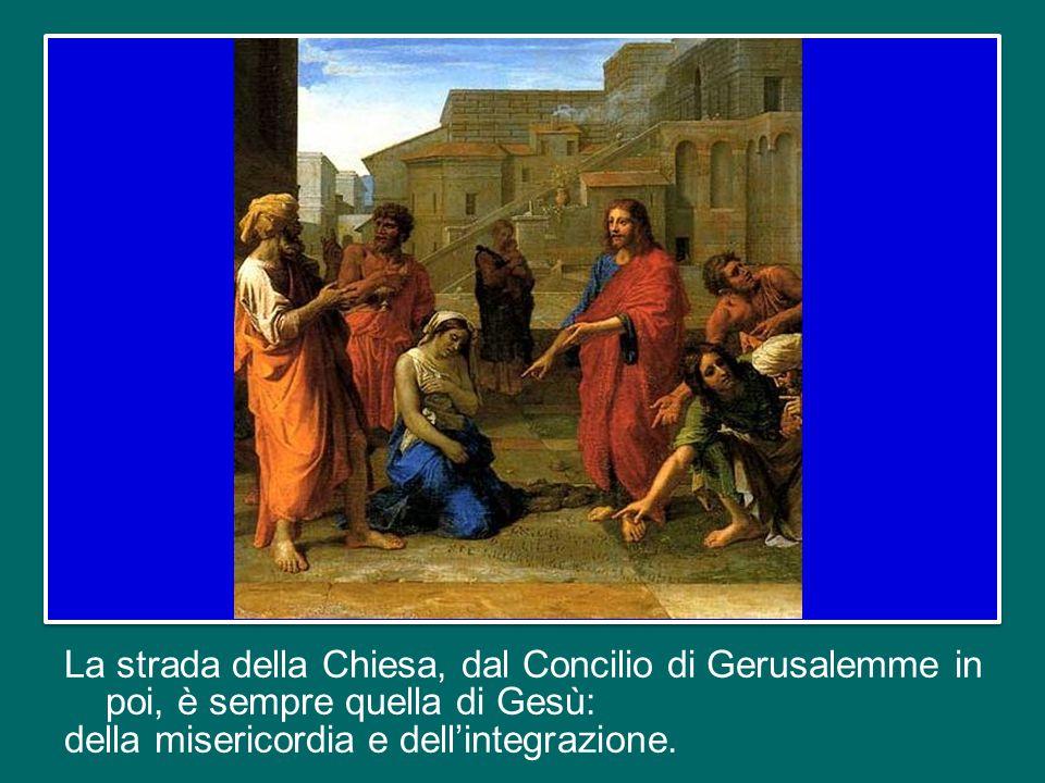 Anche san Pietro venne criticato duramente dalla comunità quando entrò nella casa del centurione pagano Cornelio (cfr At 10).