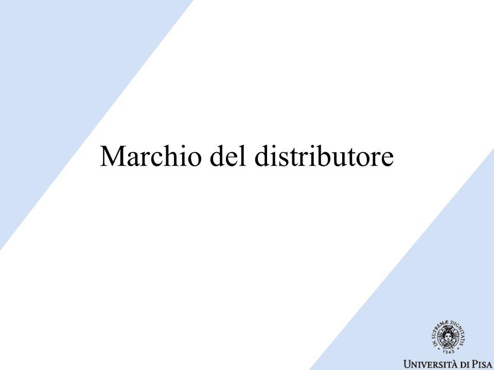 Marchio del distributore