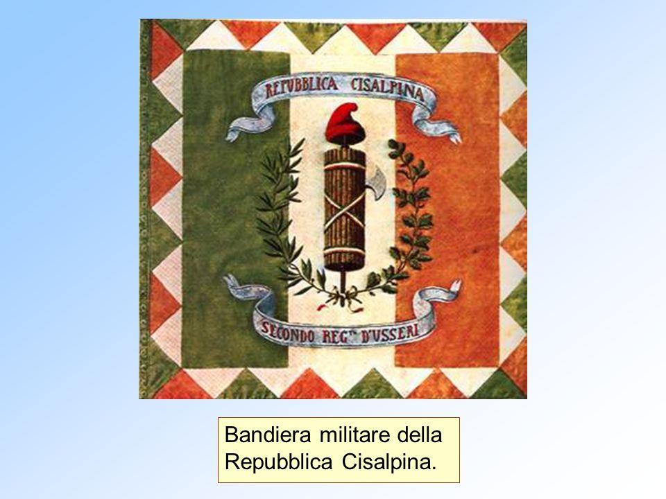 Bandiera militare della Repubblica Cisalpina.