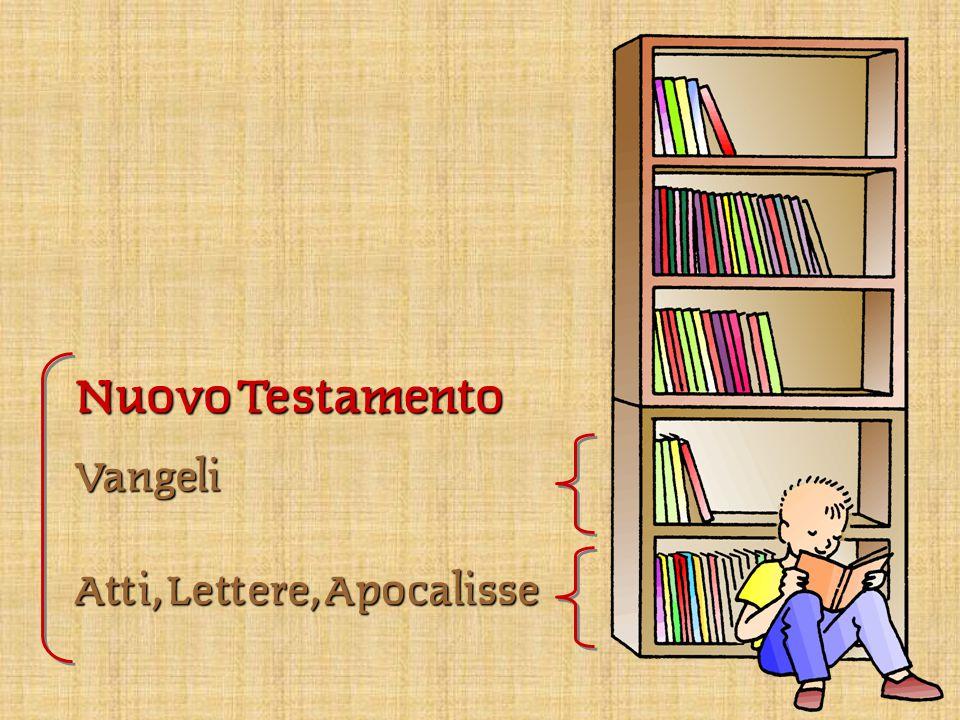 Nuovo Testamento Vangeli Atti, Lettere, Apocalisse