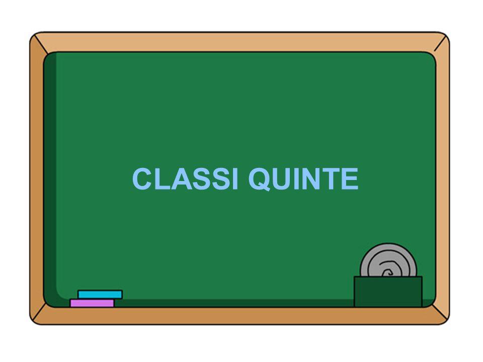 CLASSI QUINTE