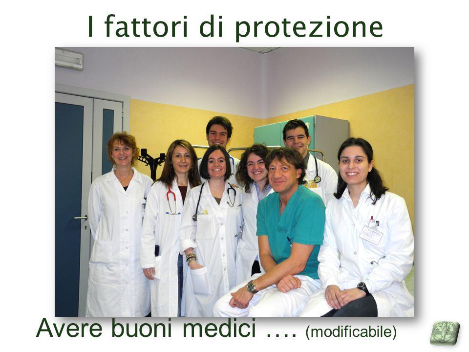 I fattori di protezione Avere buoni medici …. (modificabile)