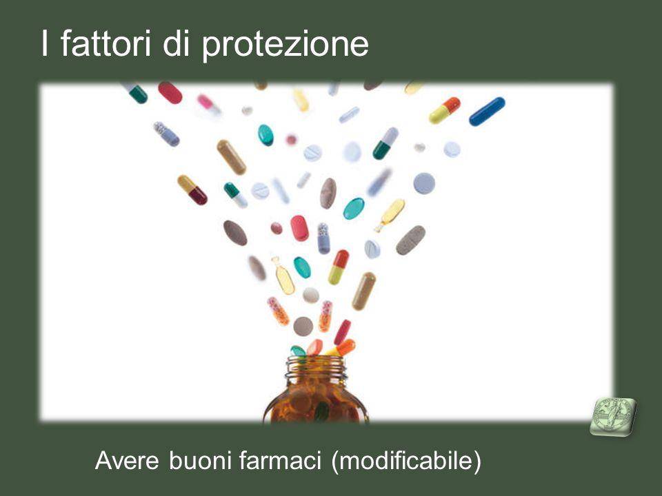 I fattori di protezione Avere buoni farmaci (modificabile)