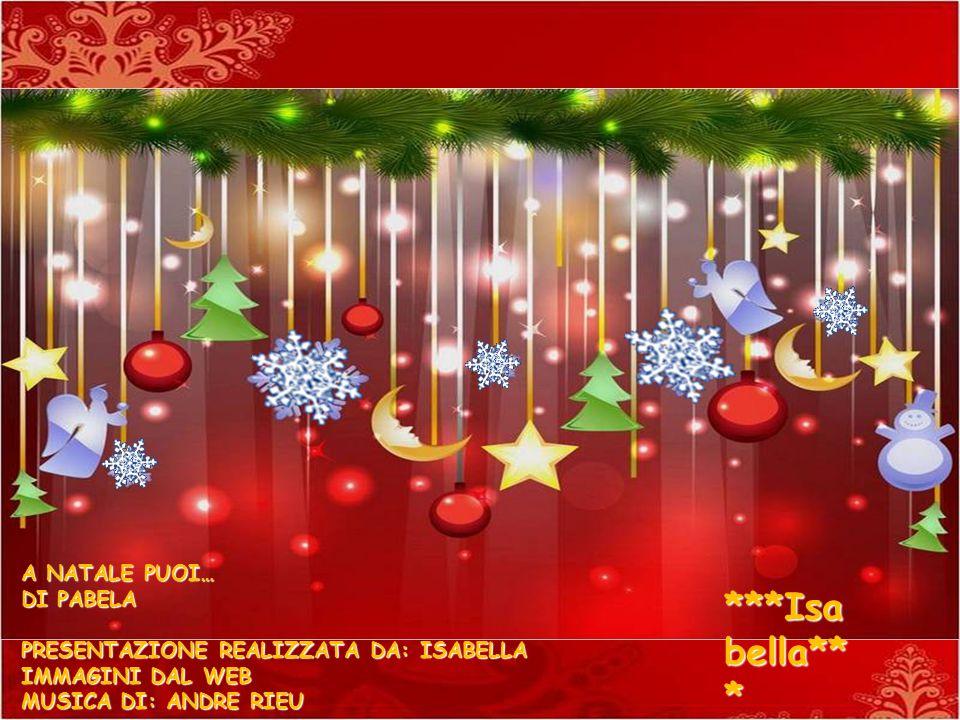 Buon Natale ! Buon Natale ! Merry Christmas !