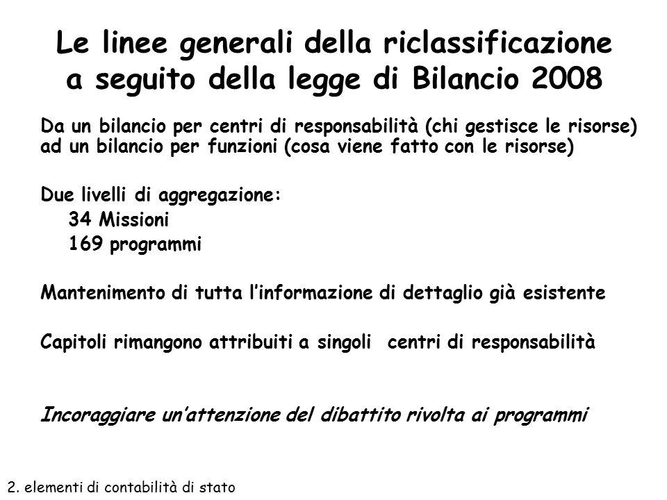 Note preliminari Dovrebbero individuare gli obiettivi che le Amministrazioni intendono conseguire con riferimento ai propri programmi; gli indicatori