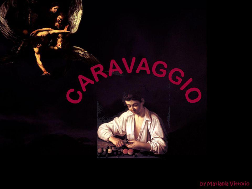 SETTE OPERE DI MISERICORDIA CORPORALE DAVIDE CON LA TESTA DI GOLIA 1610 1607 S. GIROLAMO SCRIVENTE