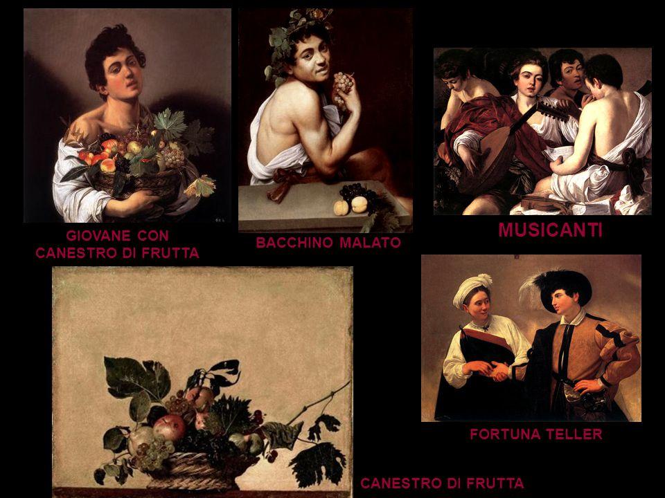 Caravaggio ha assunto il ruolo di Pittore ribelle, Artista Maledetto, per la tormentata odissea della sua vita e per la rivoluzionaria caratteristica artistica rispetto agli stili precedenti.