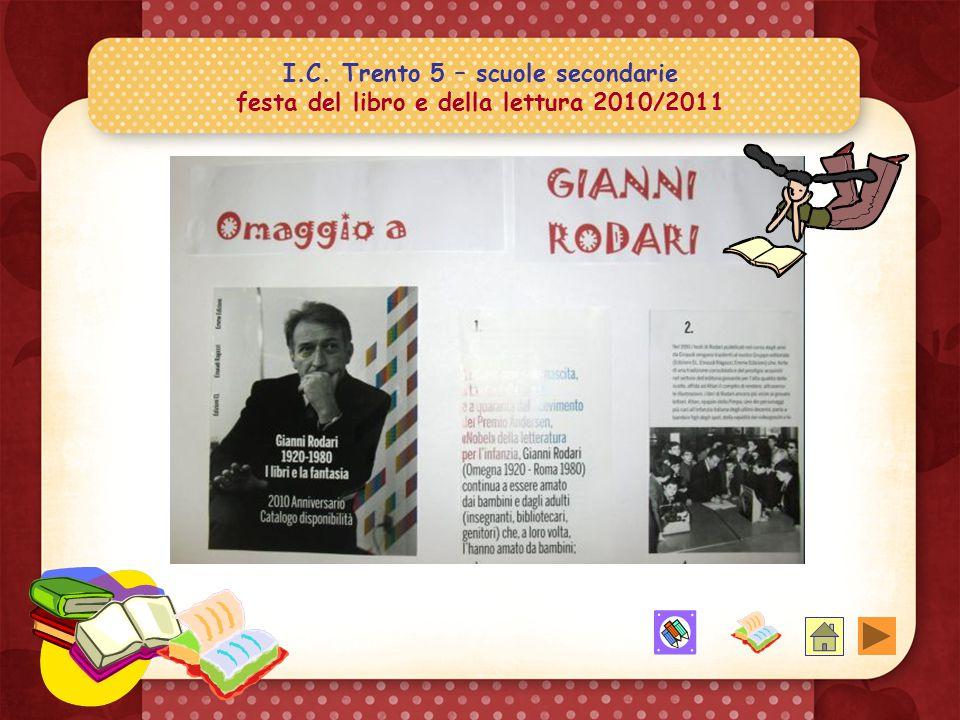 I.C. Trento 5 – scuole secondarie festa del libro e della lettura 2010/2011 E ora la discussione.