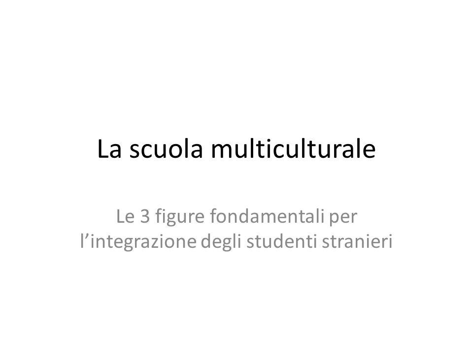 La scuola multiculturale Le 3 figure fondamentali per l'integrazione degli studenti stranieri