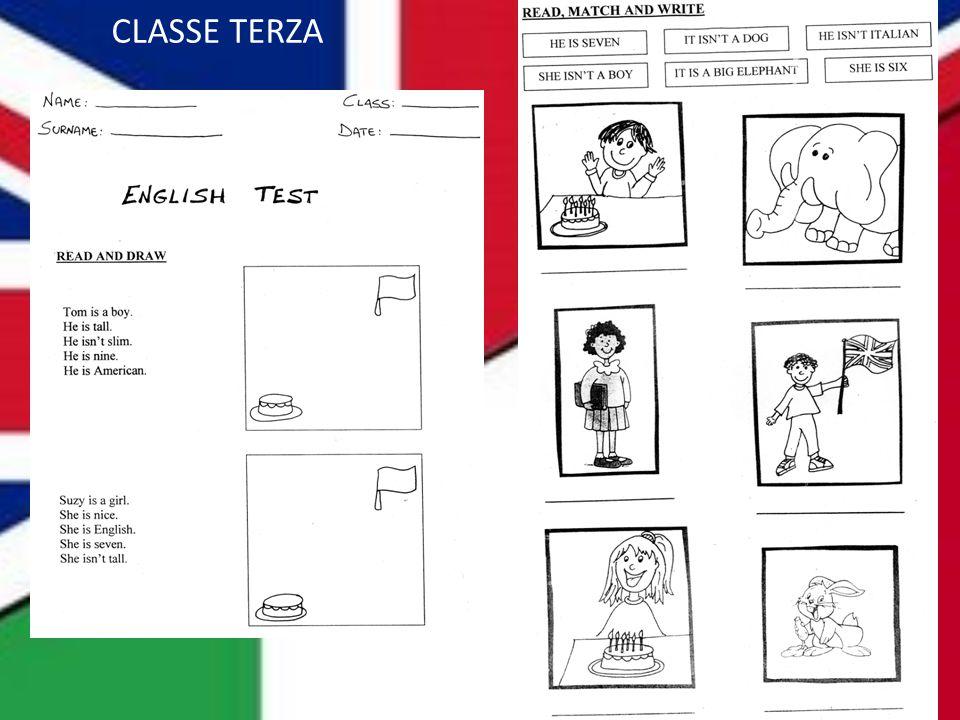 CLASSE TERZA
