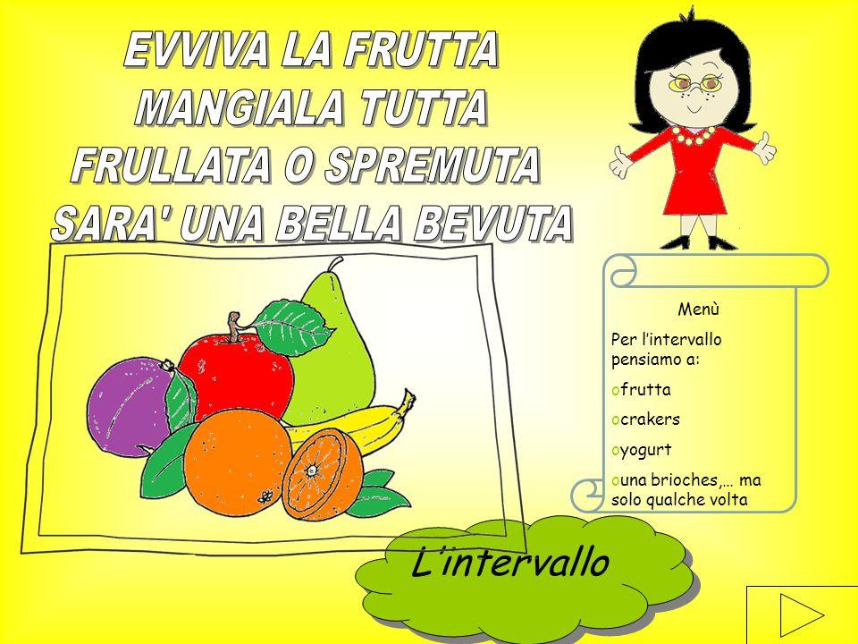 Menù Il pranzo dovrà essere nutriente, ma non pesante quindi: opasta al pomodoro oFettina alla griglia oInsalata ofrutta Il pranzo…