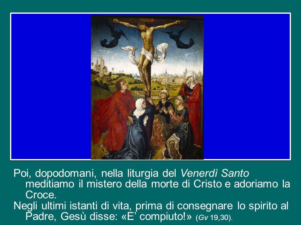 Se ci accostiamo alla santa Comunione senza essere sinceramente disposti a lavarci i piedi gli uni agli altri, noi non riconosciamo il Corpo del Signo