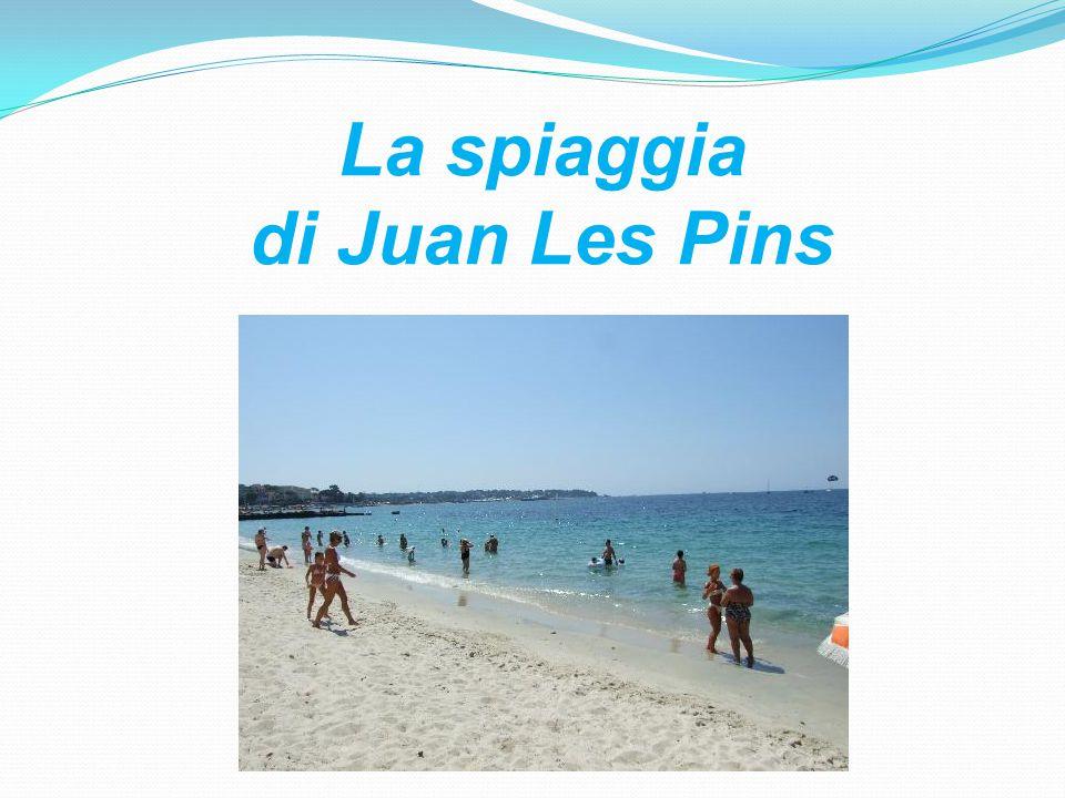 La spiaggia di Juan Les Pins