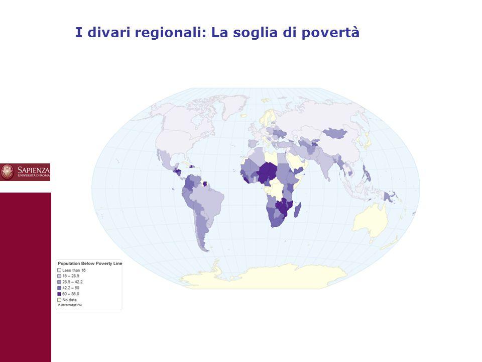 10 I divari regionali: La soglia di povertà