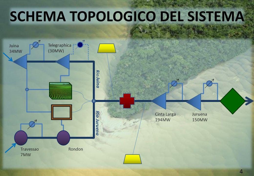 COMMITTENTE: Governo del Mato Grosso CONTRIBUENTI: Stato, AMAGGI GROUP CONFINI SPAZIALI: Dalle sorgenti allo sbocco di Juruena nel rio Tapajos CONFINI TEMPORALI:Infiniti 5