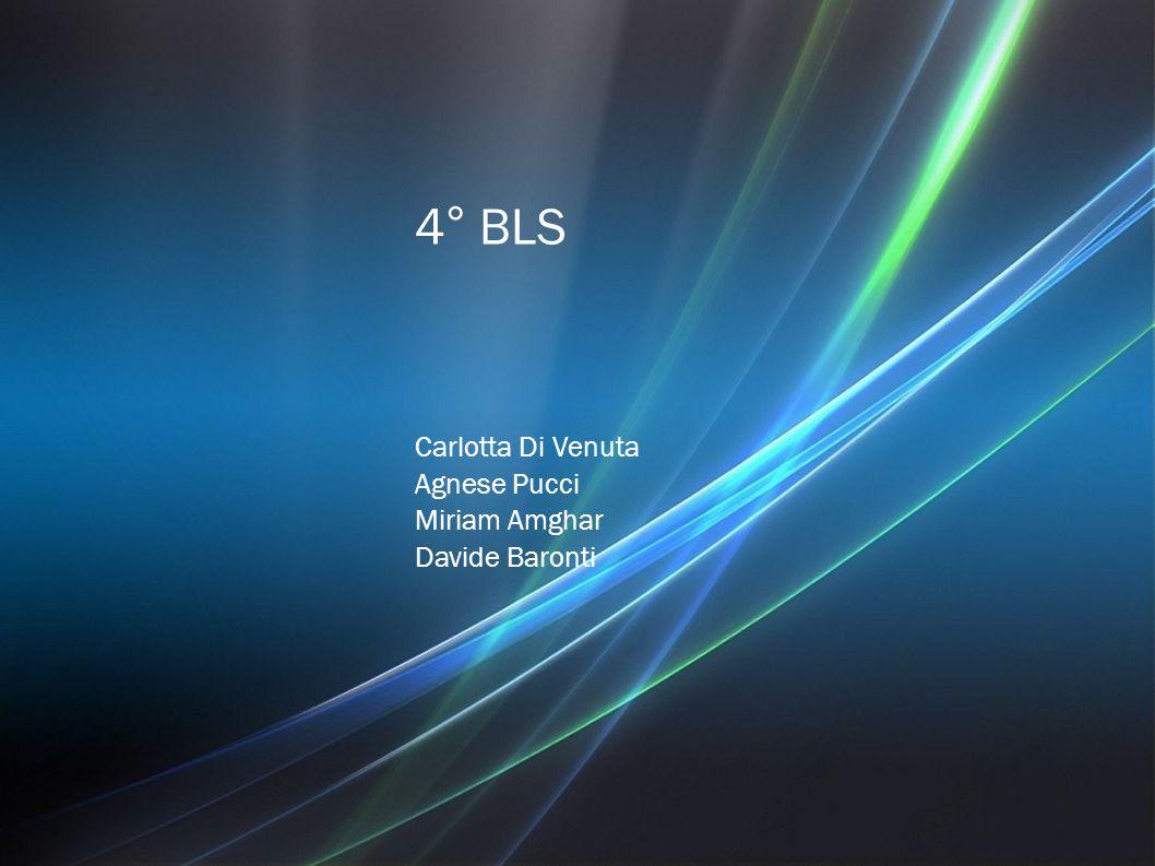 4° BLS Carlotta Di Venuta Agnese Pucci Miriam Amghar Davide Baronti
