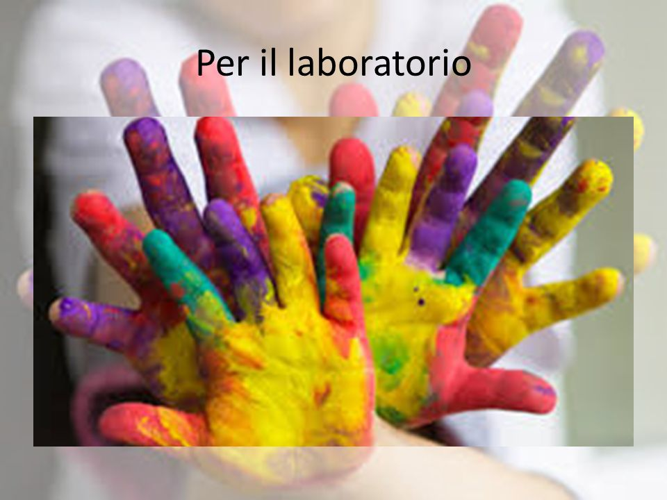 Per il laboratorio