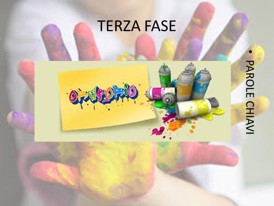 TERZA FASE PAROLE CHIAVI