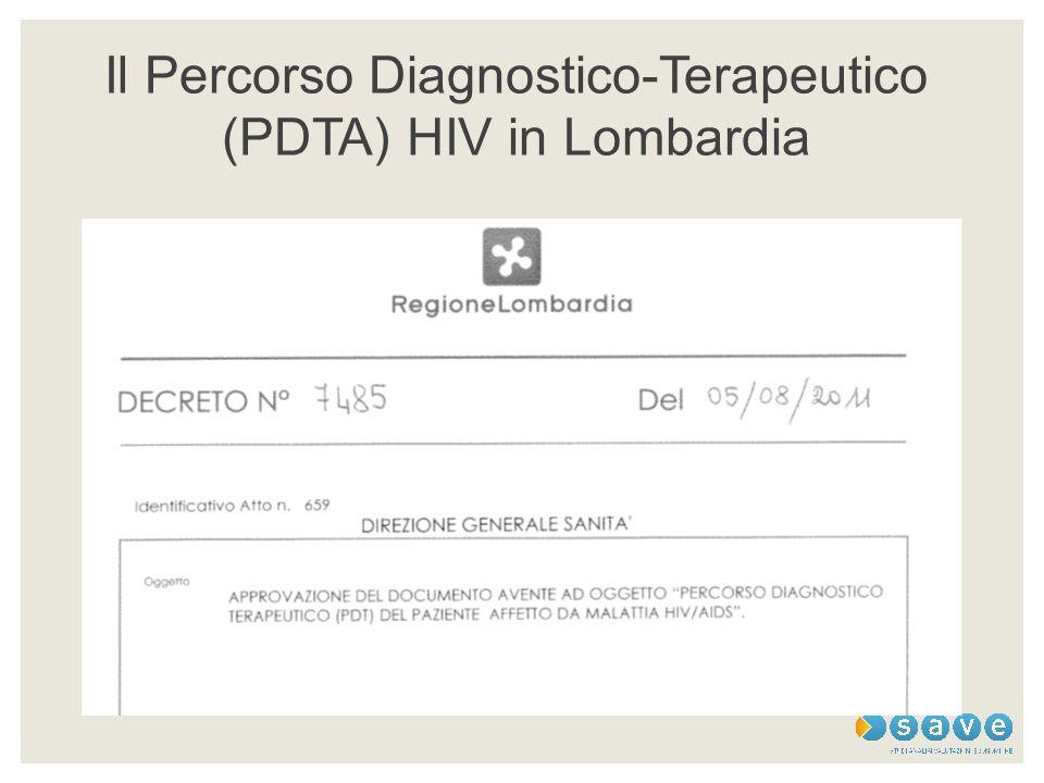 Il Percorso Diagnostico-Terapeutico (PDTA) HIV in Lombardia