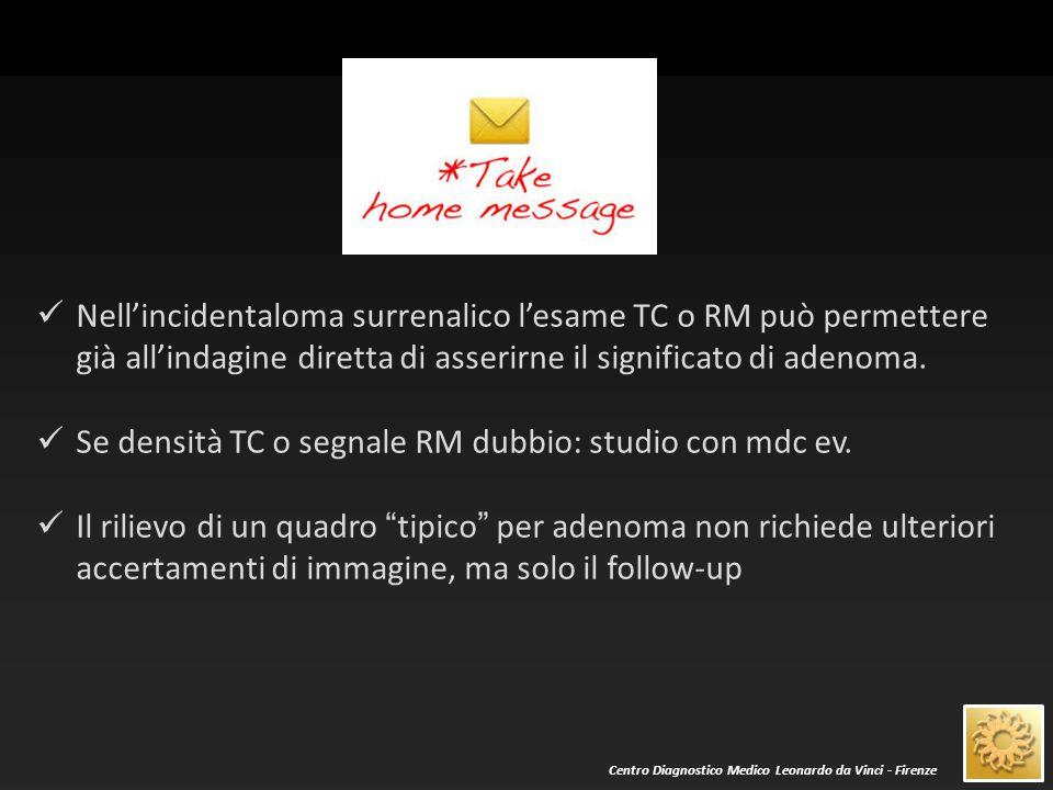 Centro Diagnostico Medico Leonardo da Vinci - Firenze La RM è di poco superiore alla TC nella d.d.