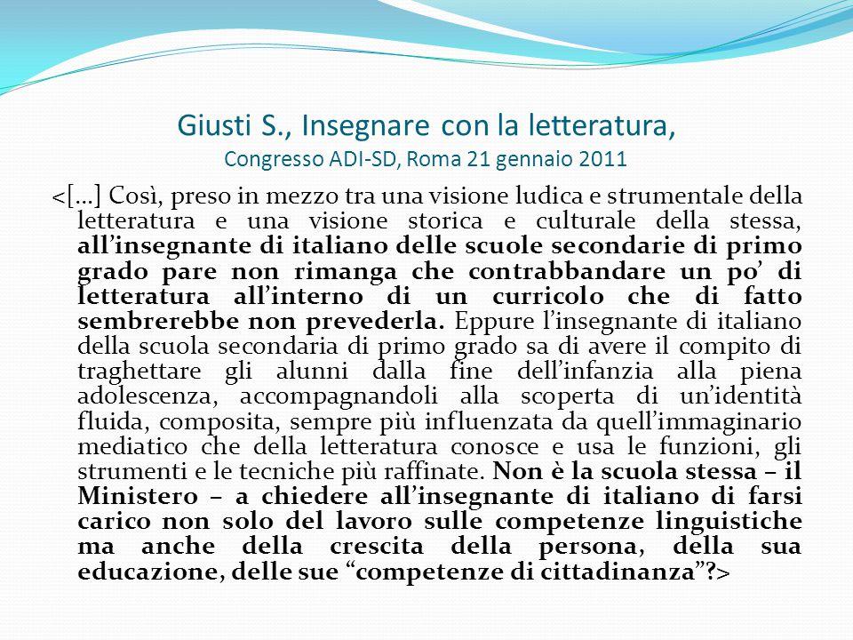 Traccia di UA sequenziale di Letteratura Italiana (Francesca M.