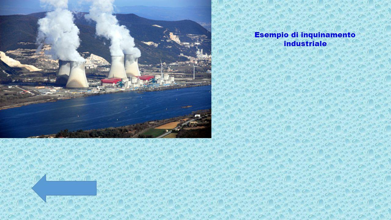 Esempio di inquinamento industriale