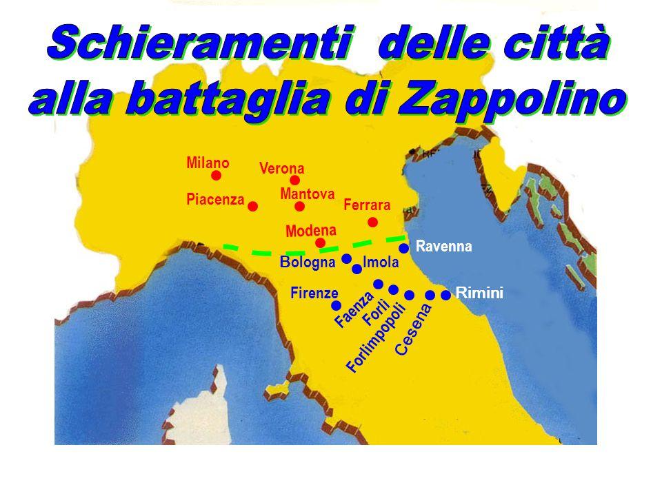 F a e n z a Modena Piacenza Mantova Milano Ferrara B olognaImola F o r l i m p o p o l i F o r l ì C e s e n a Rimini Ravenna Verona Firenze