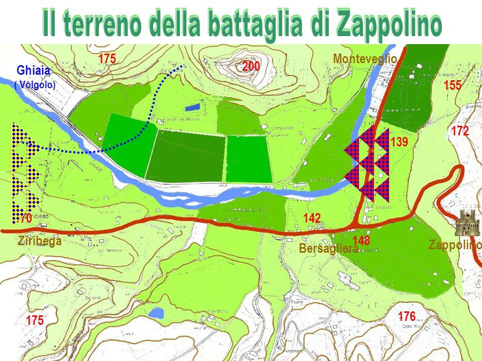 Ziribega Bersagliera Zappolino Monteveglio 170 175 142 155 139 176 172 148 Ghiaia ( Vòlgolo) 200