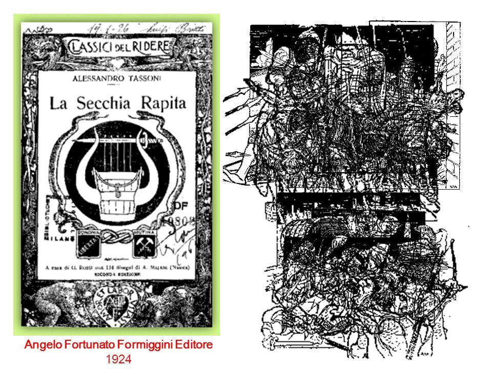 Angelo Fortunato Formiggini Editore 1924