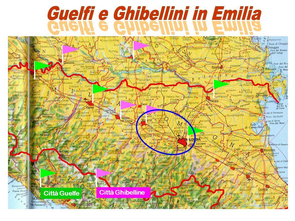 Città Guelfe Città Ghibelline
