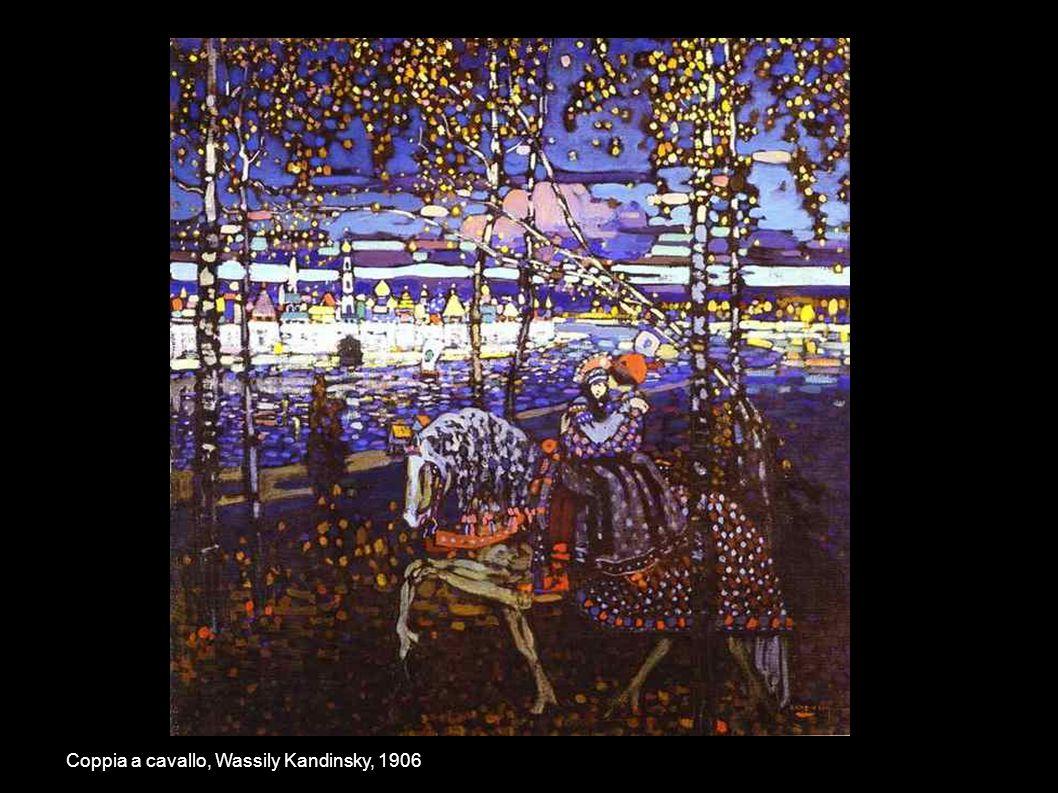 Coppia a cavallo, Wassily Kandinsky, 1906