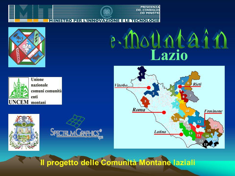 Lazio Il progetto delle Comunità Montane laziali